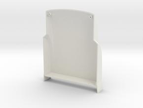 Knight Hauler Midroof Cap in White Natural Versatile Plastic