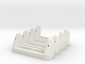 Servoholder-22mm-1-4pieces in White Strong & Flexible