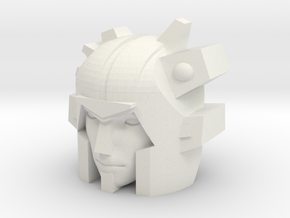 IDW Elita One head for CW Onslaught in White Natural Versatile Plastic