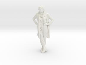 Printle C Femme 011 - 1/35 - wob in White Natural Versatile Plastic