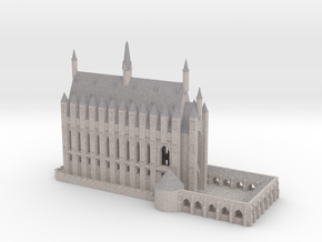 1/720 Hogwarts - Great Hall in Full Color Sandstone