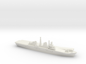 HMS Invincible R05 (Falklands War), 1/1800 in White Natural Versatile Plastic