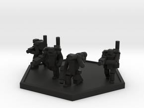 Colour Imperial Trooper PA Squad (Hex) in Black Natural Versatile Plastic