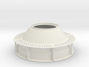 DShK Dual Open Turret 1-35 Base in White Natural Versatile Plastic