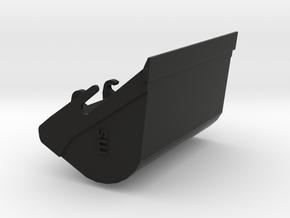 Dieplepel Versie 5 in Black Natural Versatile Plastic