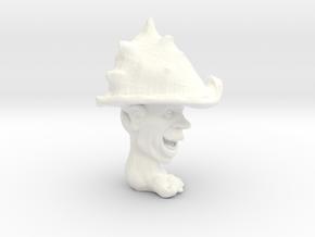 Joker Foot Soldier 3'' in White Processed Versatile Plastic