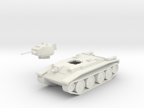Polish 10TP tank in White Natural Versatile Plastic