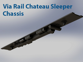 Chateu Sleeper Chassis  N Scale in Smooth Fine Detail Plastic