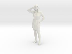Printle C Femme 023 - 1/43.5 - wob in White Natural Versatile Plastic