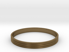 Bracelet  Ø2.5 Inch- Ø64 Mm in Natural Bronze