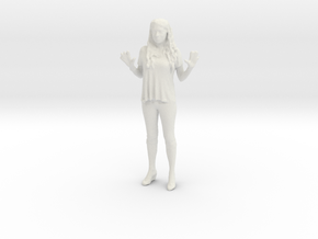 Printle C Femme 028 - 1/43.5 - wob in White Natural Versatile Plastic