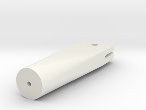 eigerPanel-Halter 50mm in White Natural Versatile Plastic