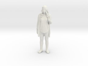 Printle C Femme 030 - 1/43.5 - wob in White Natural Versatile Plastic