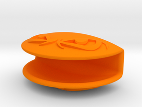 CameraCover in Orange Processed Versatile Plastic