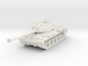 IS-2 Tank in White Natural Versatile Plastic