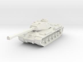 IS-2 Tank in White Natural Versatile Plastic