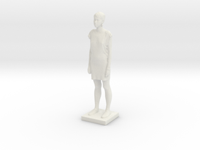 Printle C Femme 033 - 1/43.5 in White Strong & Flexible
