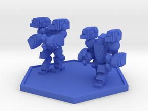 Colour Rim Bastion AECA MK III Trooper Squad (Hex) in Blue Processed Versatile Plastic
