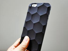 iPhone 6S Case_Hexagon in Black Strong & Flexible