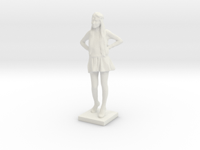 Printle C Femme 035 - 1/35 in White Natural Versatile Plastic