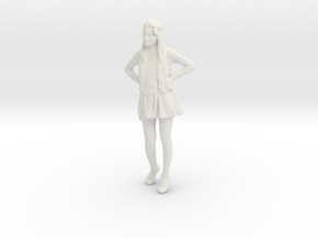 Printle C Femme 035 - 1/35 - wob in White Natural Versatile Plastic