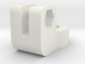 Laser Line Marker Mount in White Natural Versatile Plastic