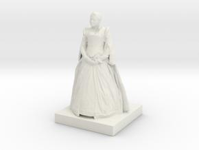 Printle C Femme 037 - 1/48 in White Natural Versatile Plastic