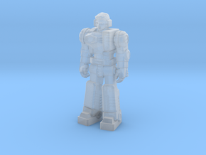 Diaclone Pilot, at attention 35mm Mini in Smooth Fine Detail Plastic