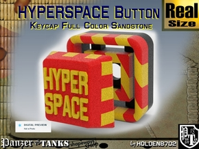 Full Color Hyperspace Button in Full Color Sandstone