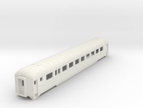 D&RGW Prospector Coach N Scale  in White Natural Versatile Plastic