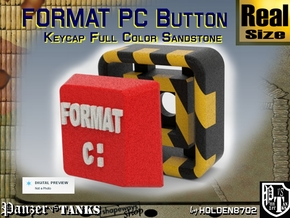 Full Color Key of Format PC in Full Color Sandstone
