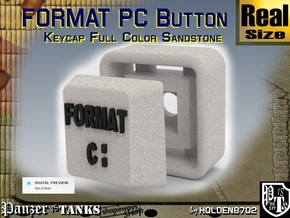 White and Black Color Key of Format PC in Full Color Sandstone