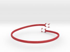 Model-4cb7f7dc5938b6b918fb28e3ad987510 in Gloss Red Porcelain