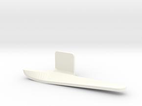 Fender flap rear right Startech D110 Team Raffee 4 in White Processed Versatile Plastic