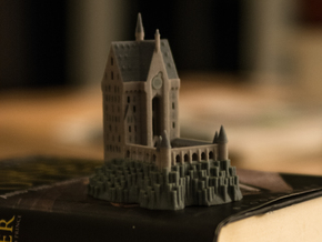 1/720 Hogwarts - Clock Tower in Full Color Sandstone