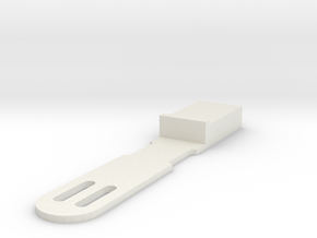 Qsfp Cable Retainer v2_0 in White Natural Versatile Plastic
