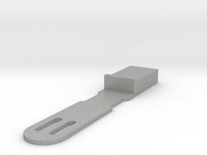 Qsfp Cable Retainer v2_0 in Aluminum