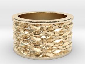 Basketweave Ring in 14K Yellow Gold: 13 / 69