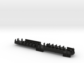 B&QT 8000 O Scale Solid Floor #1a in Black Strong & Flexible