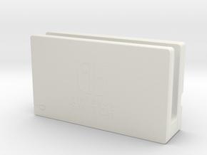 Nintendo Switch (Dock) in White Natural Versatile Plastic