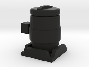 1/64 Inoculant Tank in Black Natural Versatile Plastic