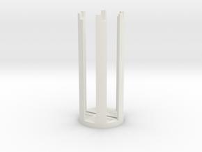 ESB/TFA Grip Guide (Version A) in White Natural Versatile Plastic