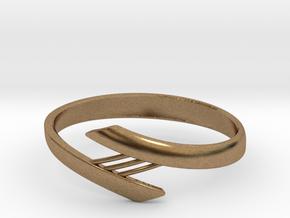 Bridge Bracelet in Natural Brass: Small