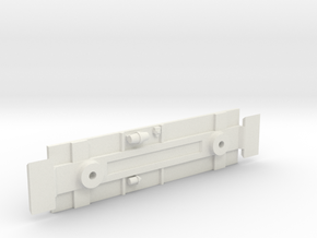 Caboose 1400Series Chassis in White Natural Versatile Plastic