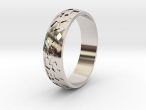 """Ring """"Ornament 2"""" in Platinum"""