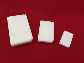 Mini Gameboy: SD 1/3 scale in White Natural Versatile Plastic