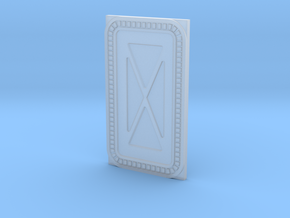 1:48 (O) & 1:160 Scale Hoth Base Door in Smooth Fine Detail Plastic: 1:48 - O