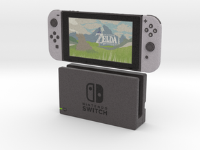 1:6 Nintendo Switch (with Dock) in Full Color Sandstone