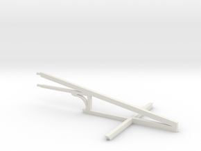 HO WCK Awning Truss X 1 in White Natural Versatile Plastic