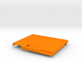 TED V2 Low Profile Shell in Orange Processed Versatile Plastic